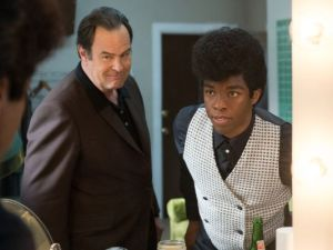 Dan Aykroyd and Chadwick Boseman in Get On Up